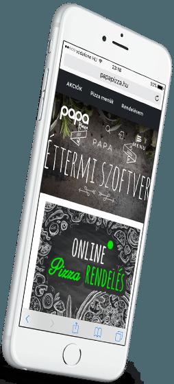Vendéglátós programok - Online ételrendelés program