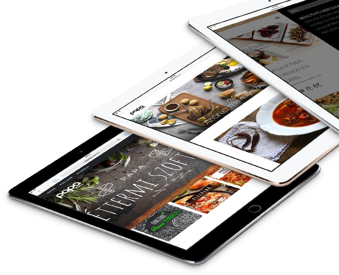 Weboldal készítés és weboldal bérlés - PAPA